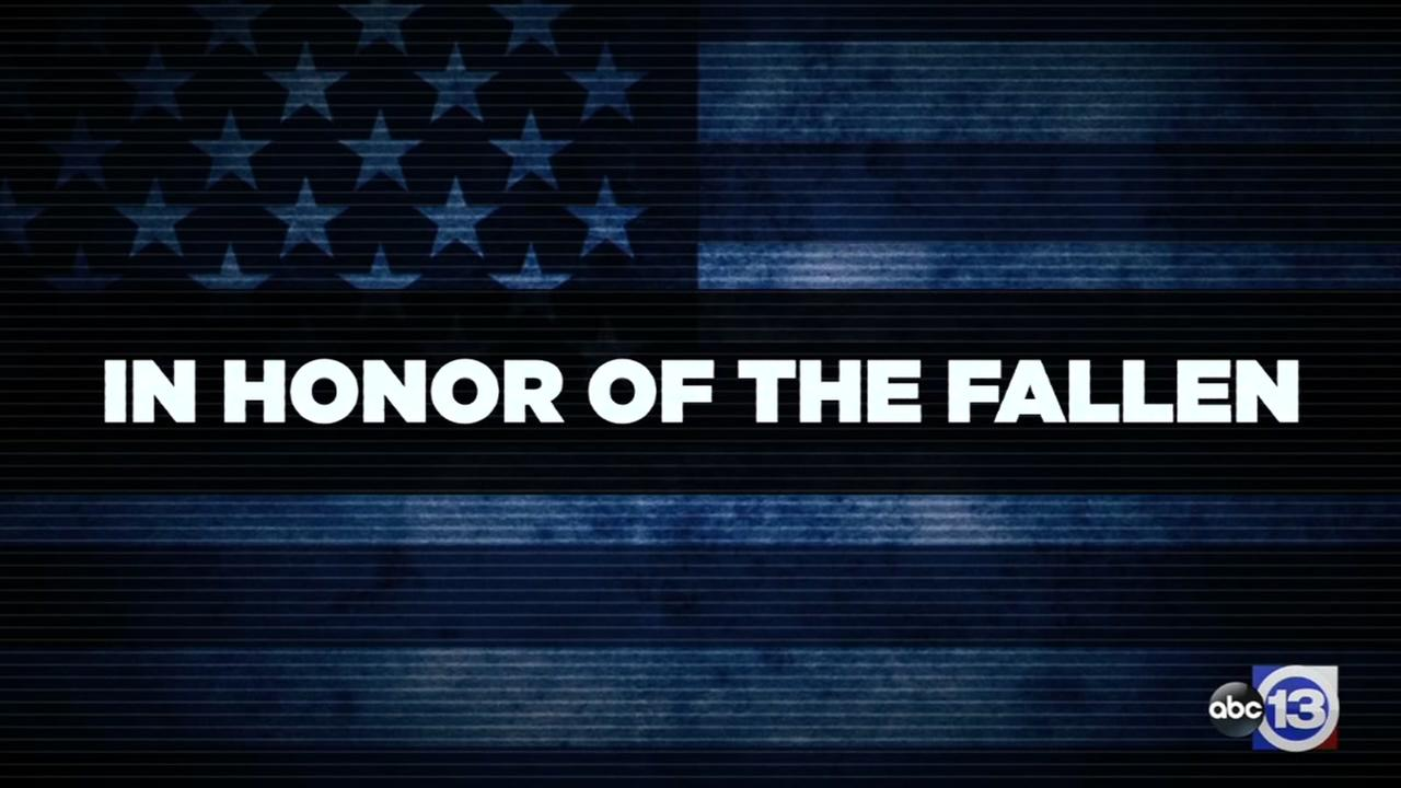 In honor of the fallen