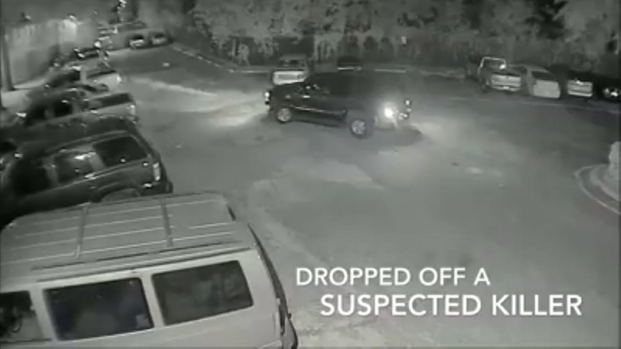 Police release video of murder suspect