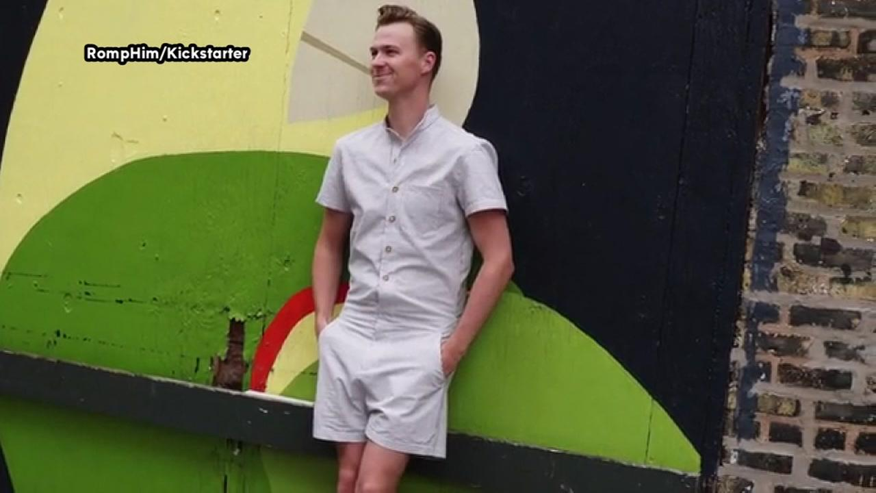 Its true -- rompers for men are a thing
