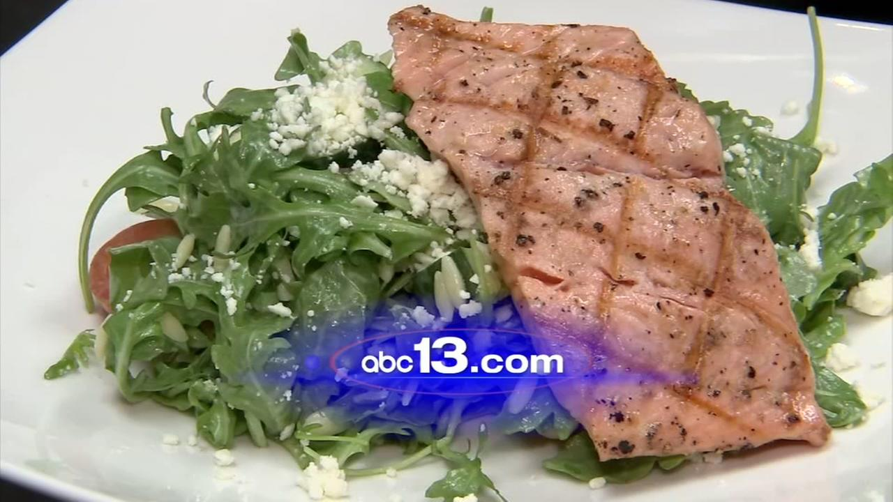 Lets Eat: Salmon salad