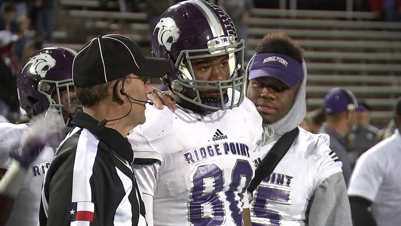 Ridge Point star tight end to list top 10 college choices tomorrow.