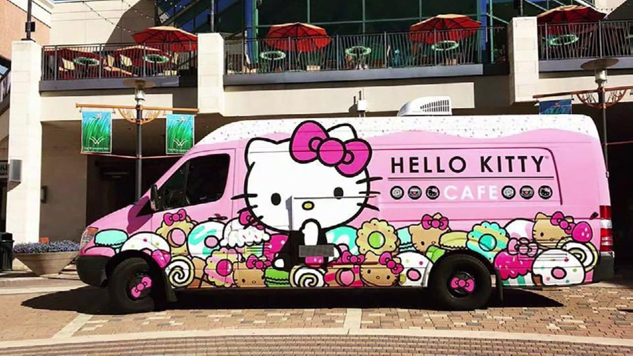 Hello Kitty truck bringing treats to Houston-area