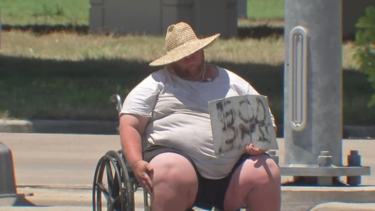 Panhandler in viral video wants to set record straight