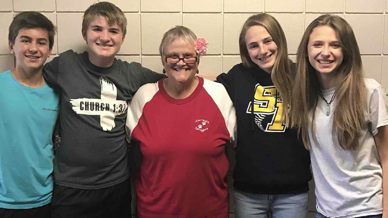 Teachers raise money for terminally ill teacher
