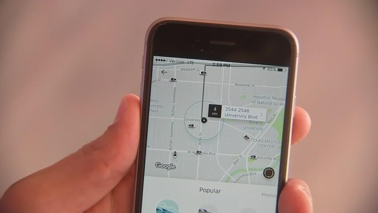 Uber returns to Galveston and Lyft will be back in Houston this week