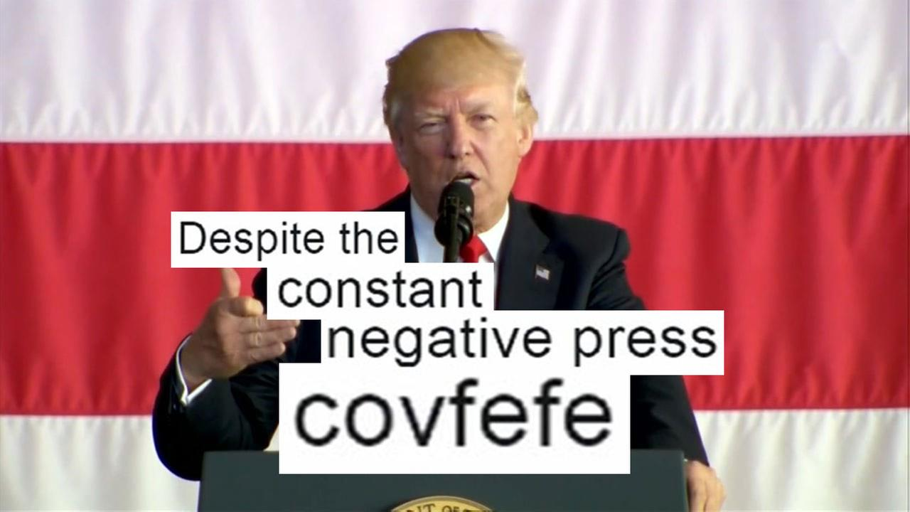 What did Trump mean by covfefe?