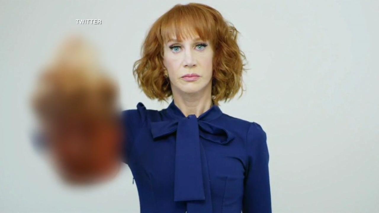 Kathy Griffin out at CNN over Trump stunt