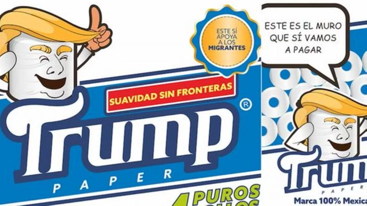 Mexican businessman launches Trump toilet paper