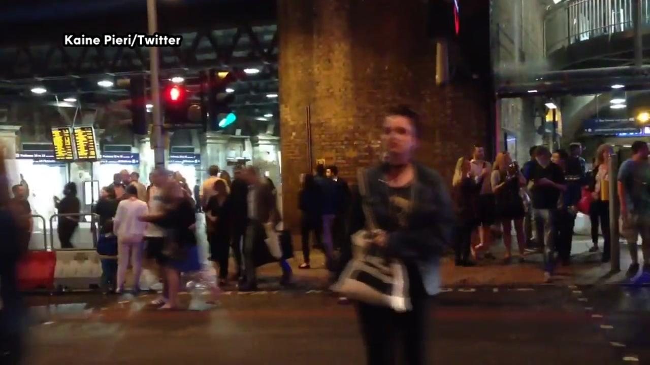 Video from scene of London Bridge incident