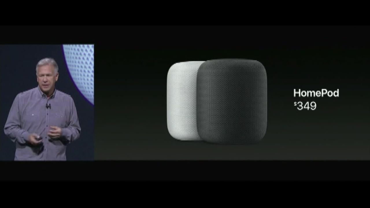 Apple introduces the HomePod