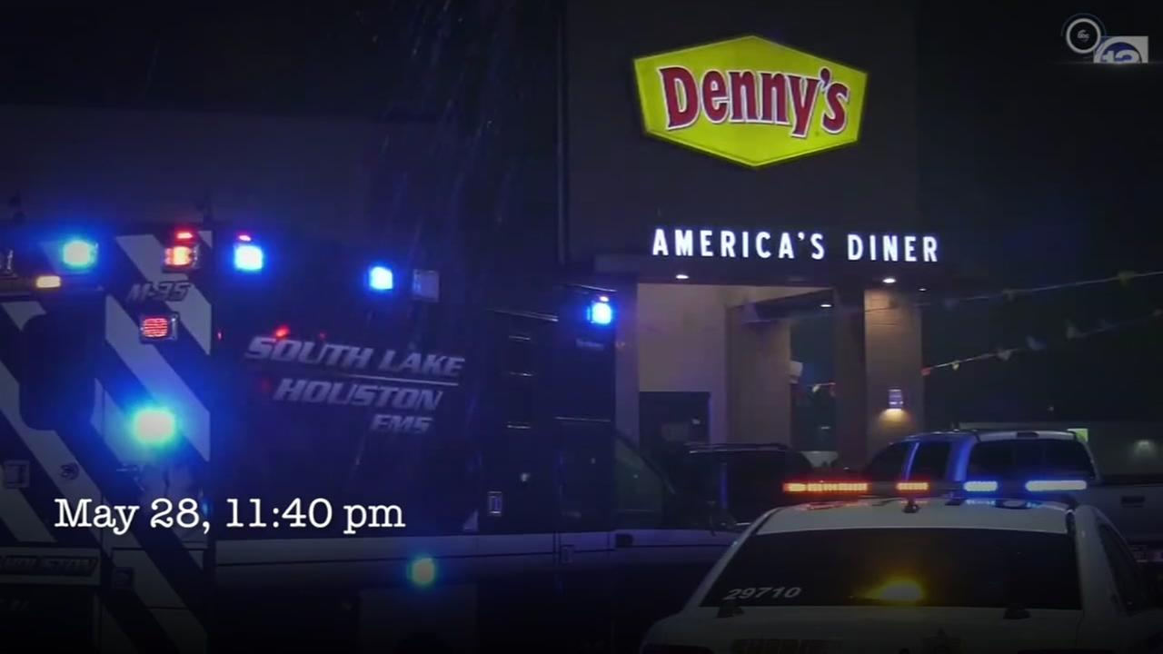 Timeline of events of the deadly confrontation outside a Dennys restaurant