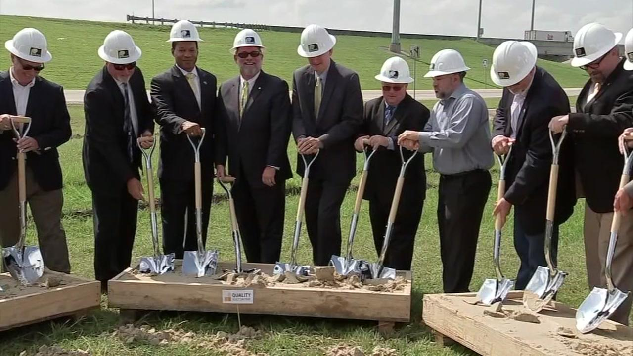 Groundbreaking begins for 288 tollway