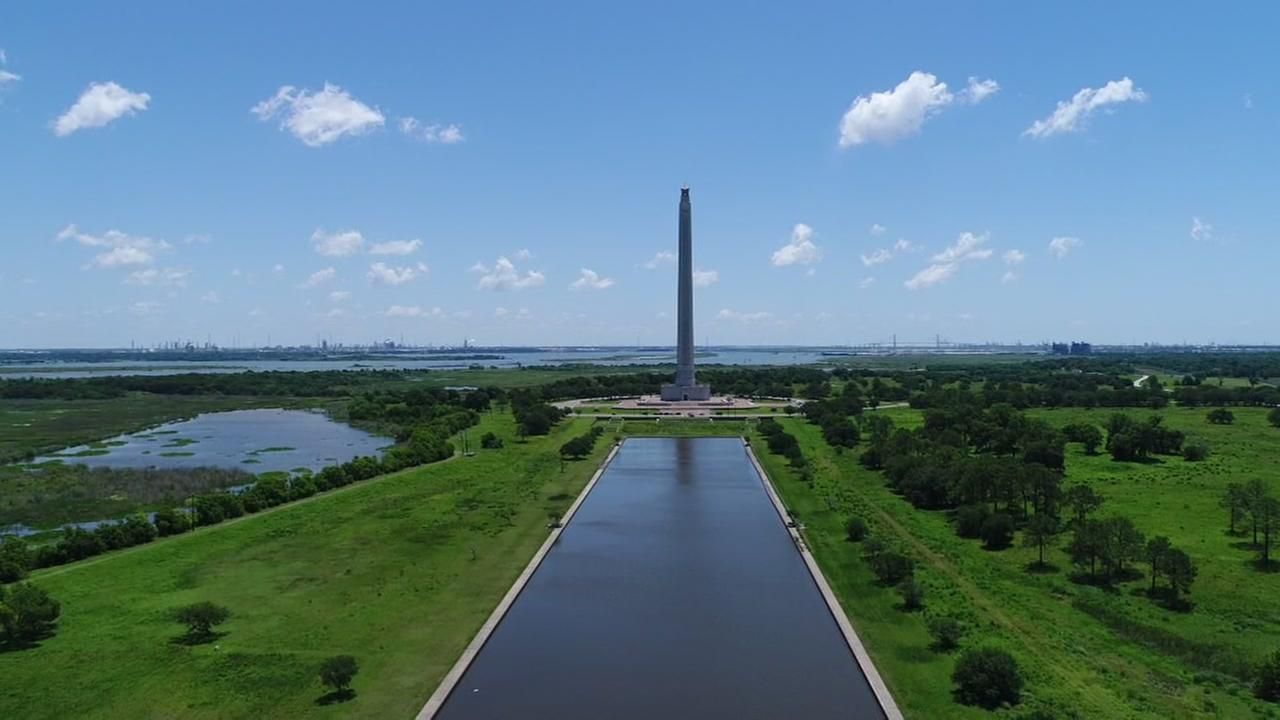 SkyDrone 13 over San Jacinto Monument
