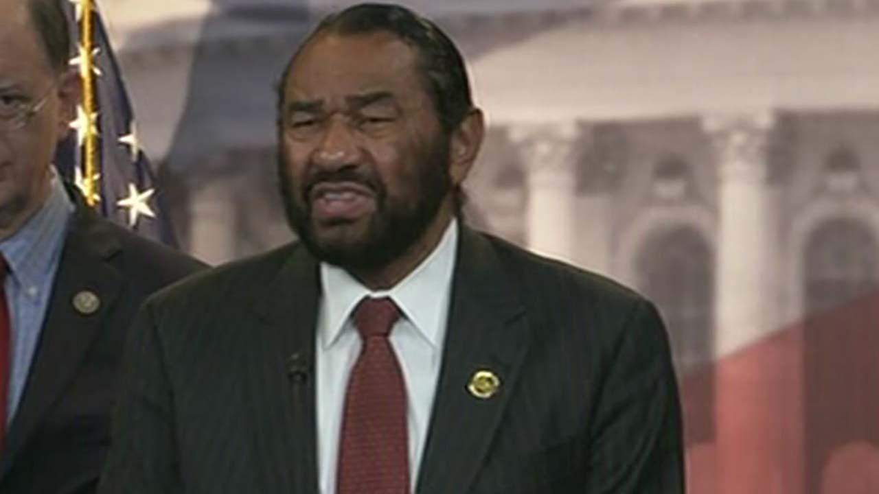Congressman Al Green begins drafting articles of impeachment