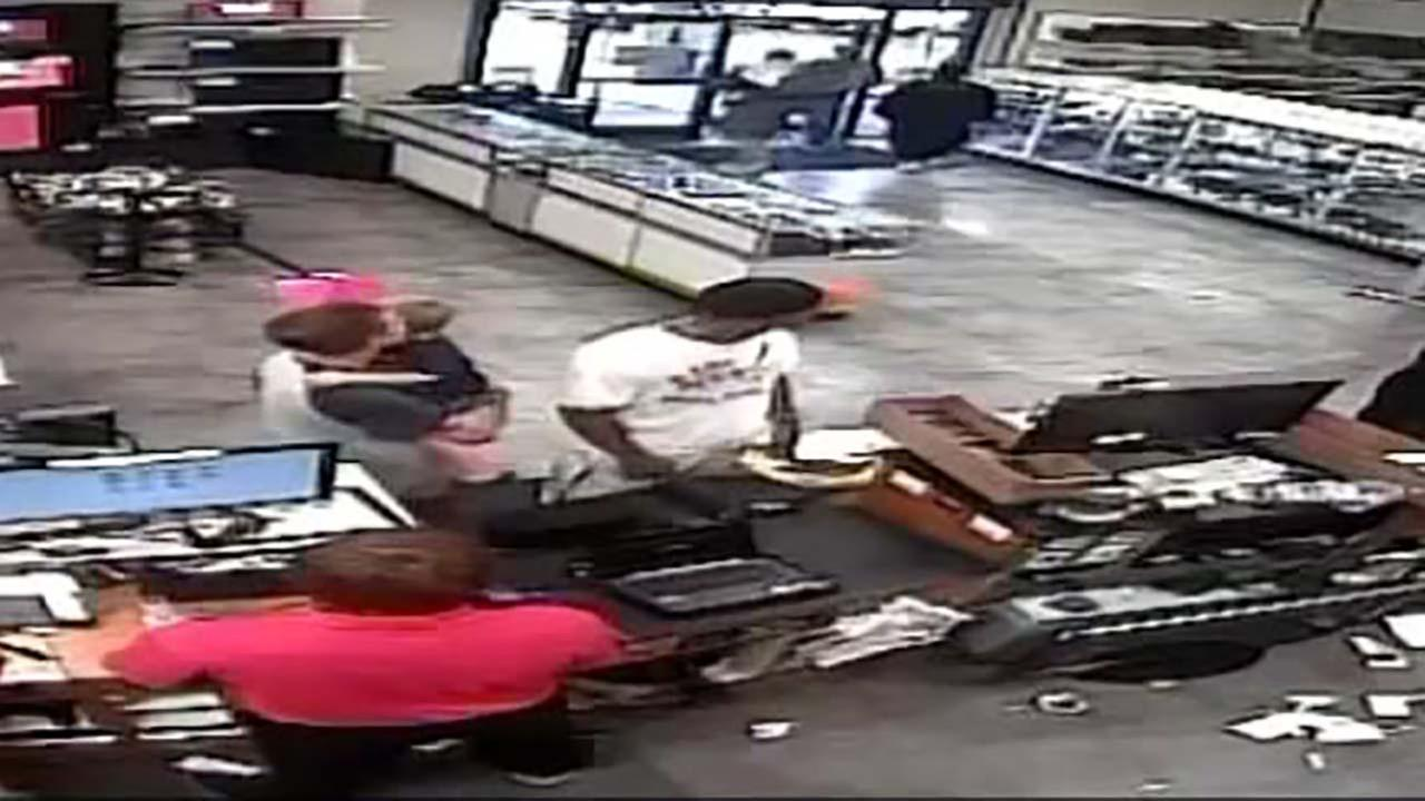 New video released from robbery at EZ Pawn on FM1960