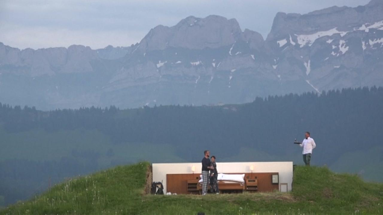 Zero-star hotel lets you sleep under the stars