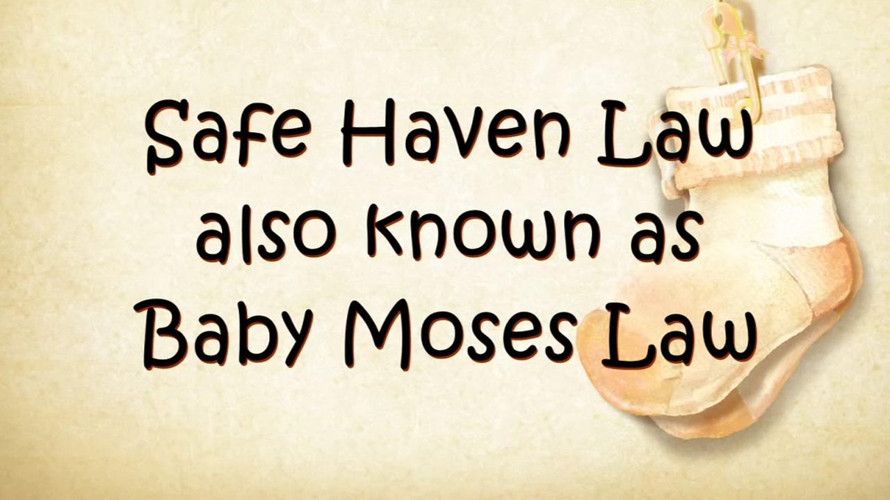 What is the safe haven or baby Moses law