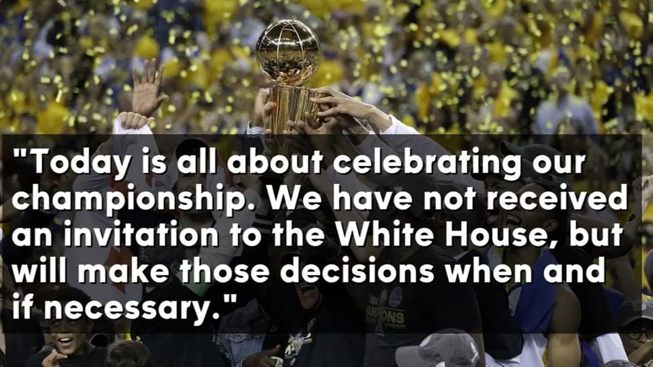 Rumours of Warriors turning down White House invitation, are not true