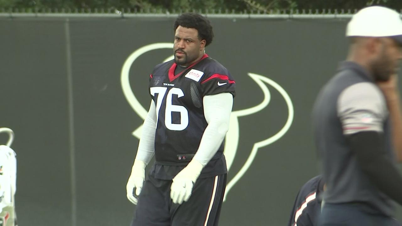 Duane Brown a no show during Texans mini camp