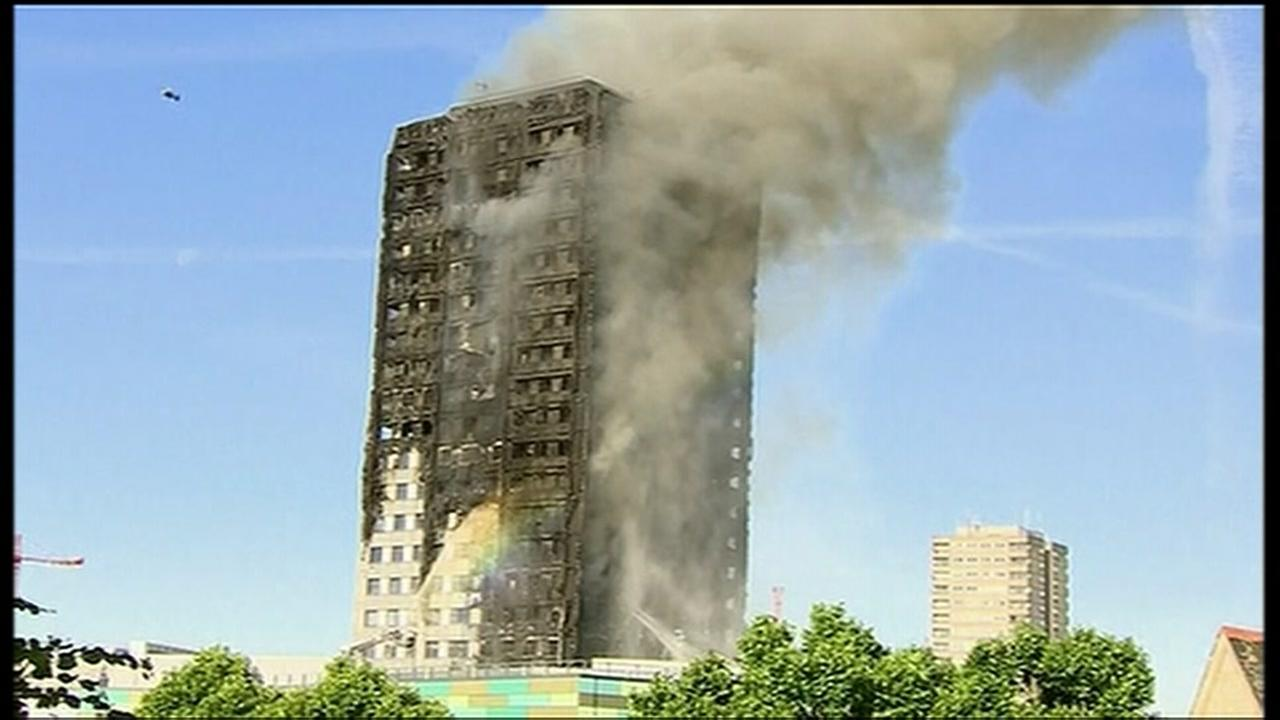 Number of fatalities after London tower fire