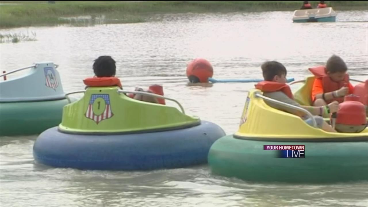 Camp gives kids chance to be kids