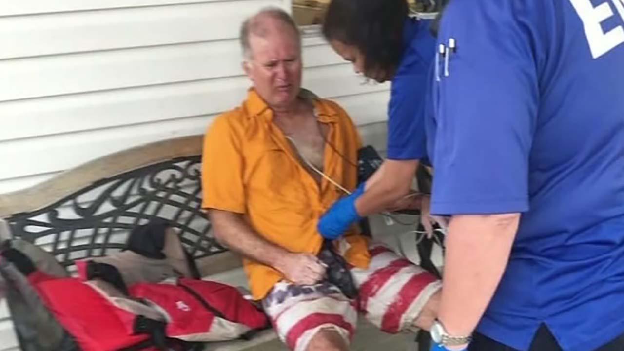Men helped save man on sailboat