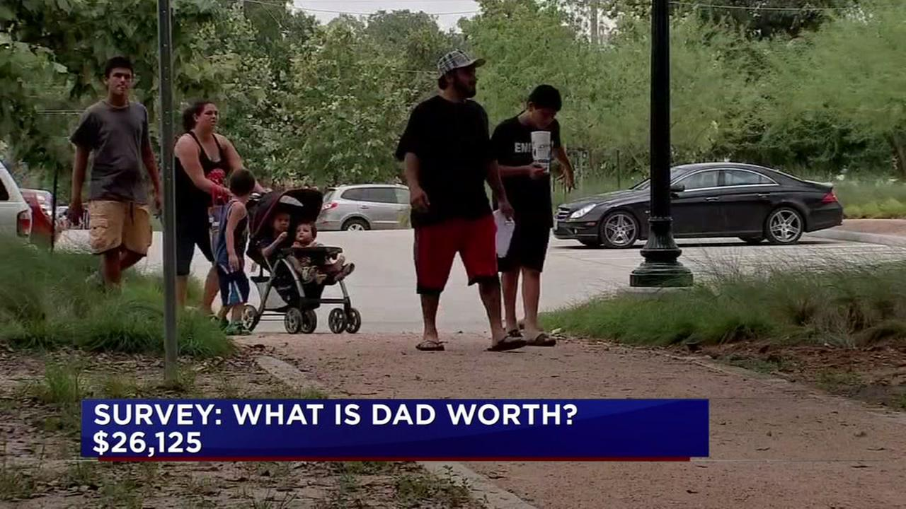 How much is dad worth?