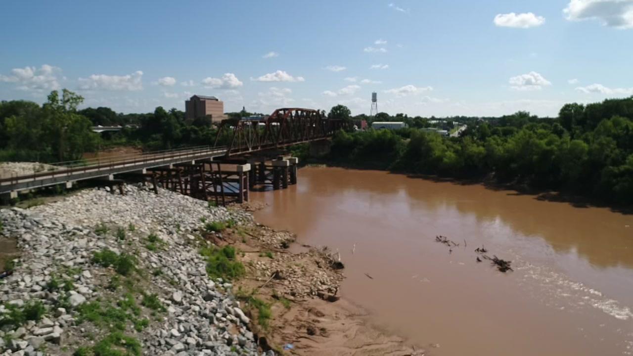 SkyDrone13 Brazos river