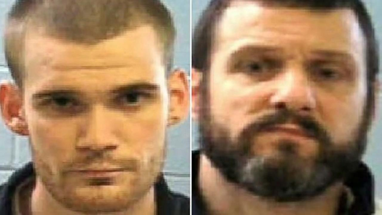 Two escaped inmates captured in Tennessee after manhunt in slayings of two Georgia prison guards