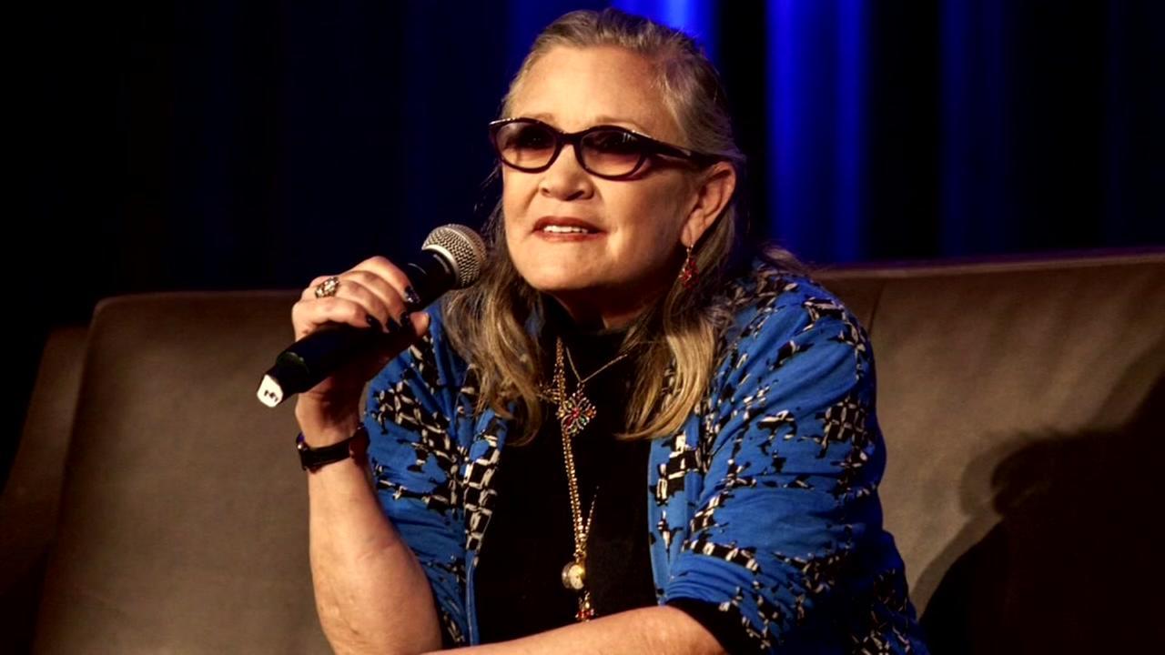 Coroner: Carrie Fisher died of sleep apnea, other factors