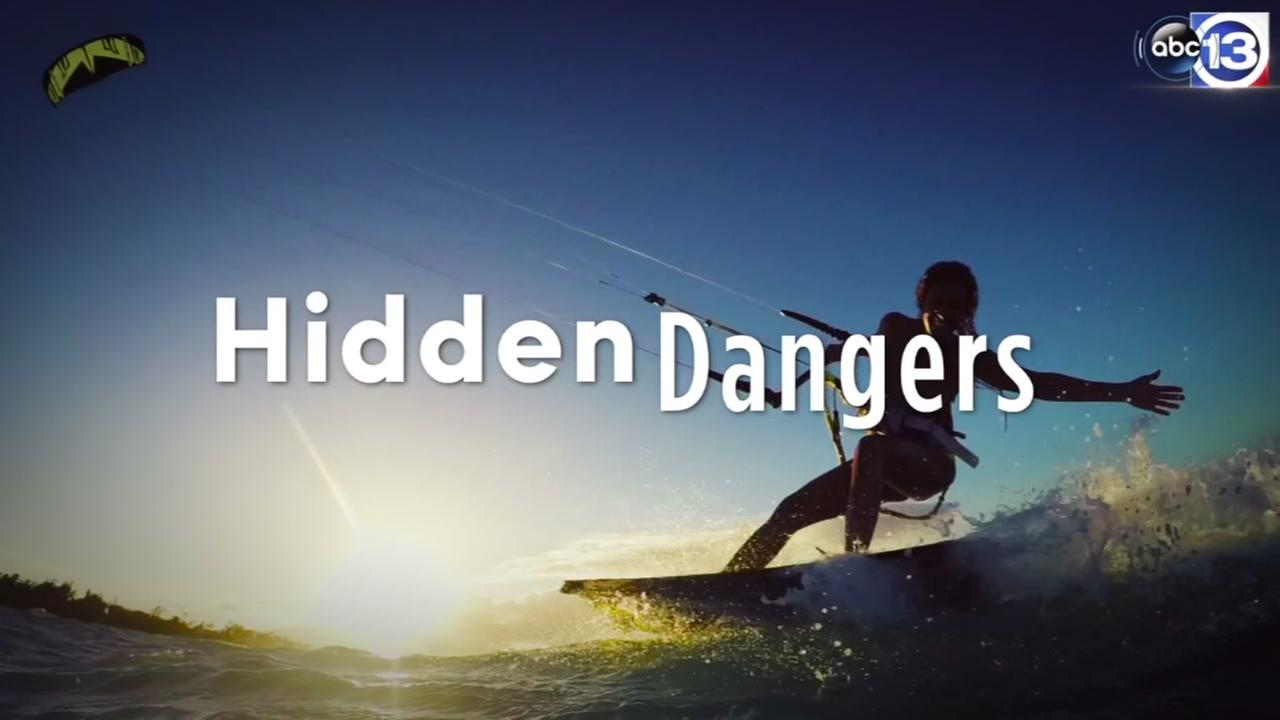 Hidden dangers in and around water