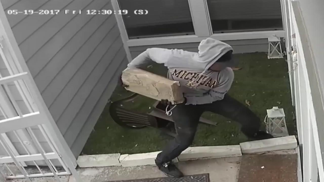 Sophisticated home invasion caught on surveillance video