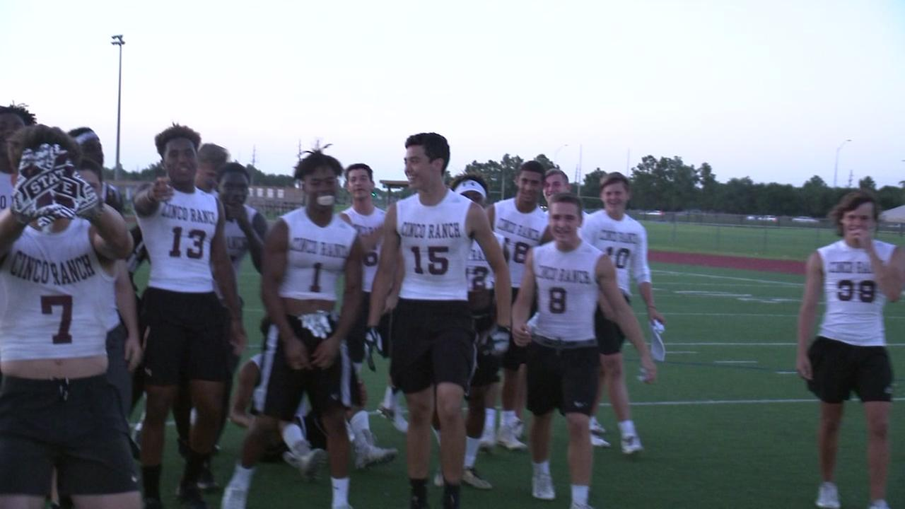 Cinco Ranch and Katy headed to 7-on-7 state tournament