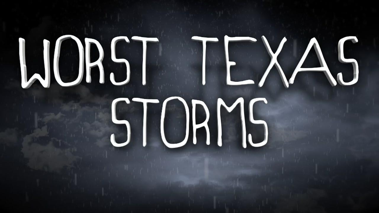 Heres a look at the worst storms to hit the Texas coast