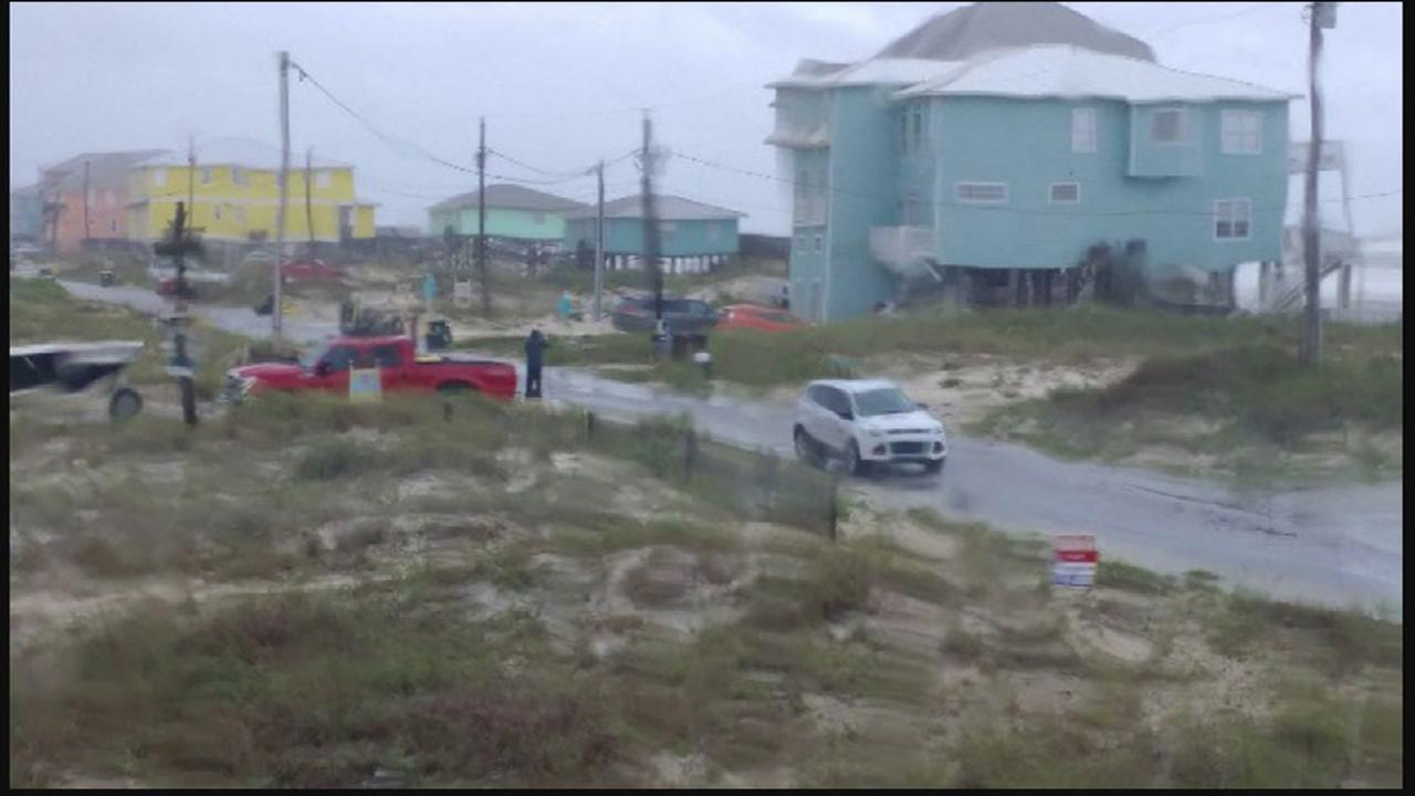 Official: Boy dies on Alabama coast struck by a log in storm surge from T.S. Cindy