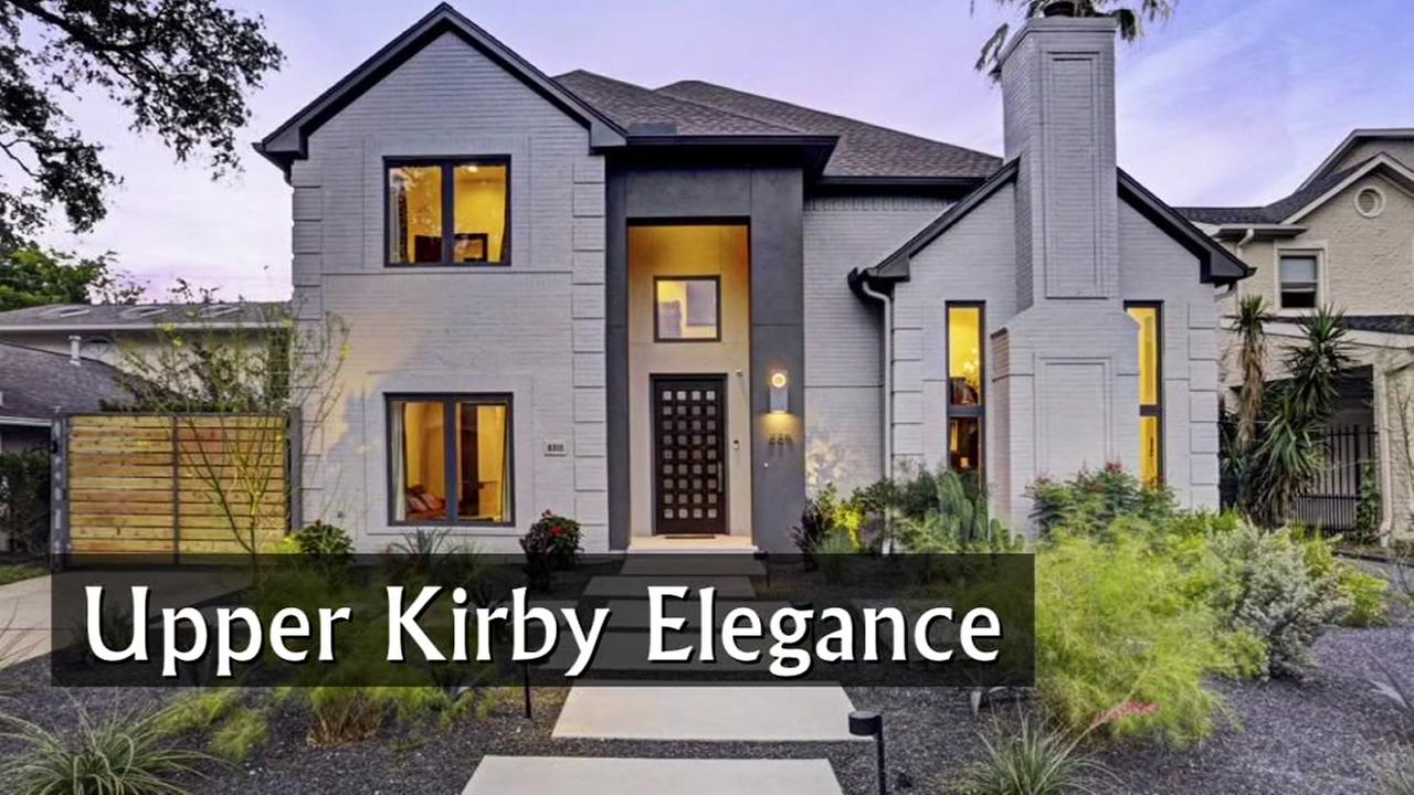 This European style smart home in the Upper Kirby area is on the market