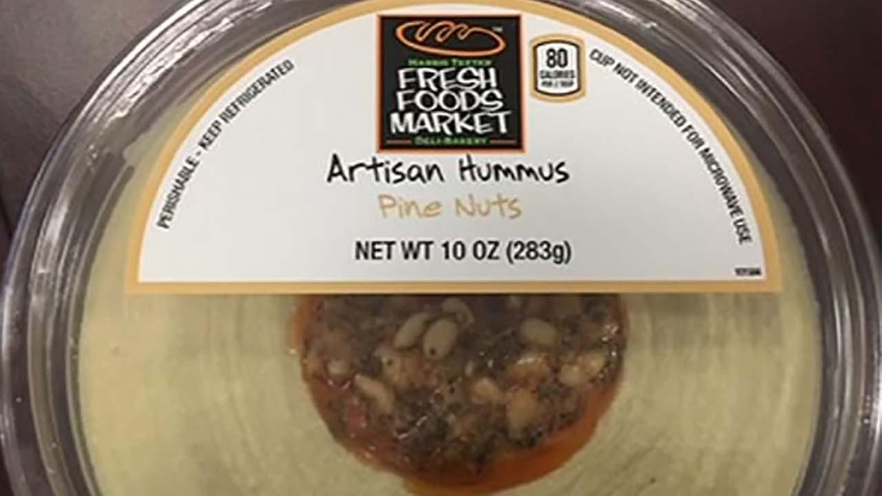 Hummus sold at Walmart and Target recalled