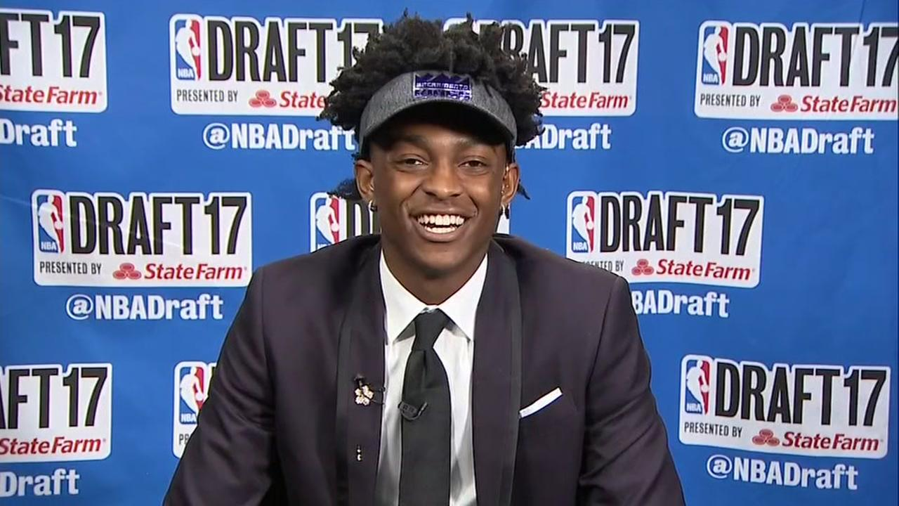 DeAaron Fox talks to ABC13s Greg Bailey