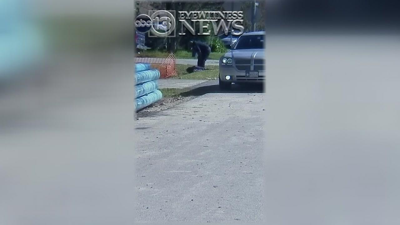 EXCLUSIVE: Indicted officer seen kicking suspect on ground