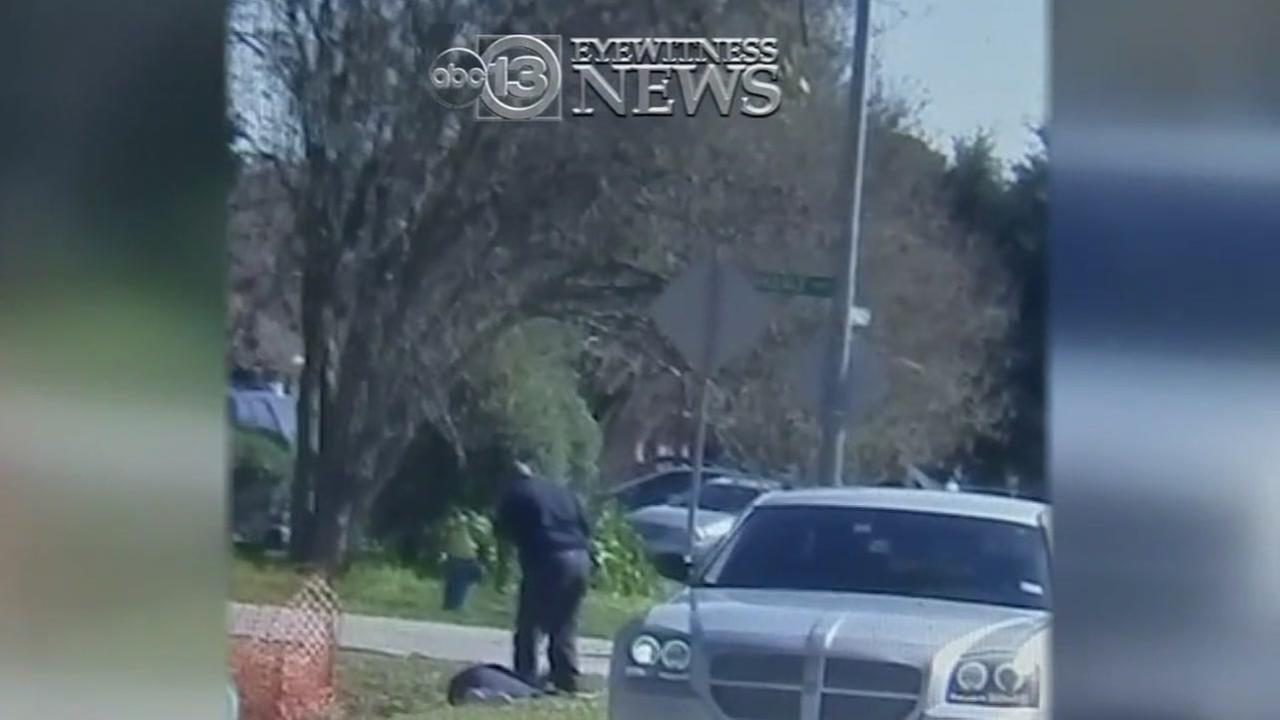 New video shows indicted officer kicking suspect