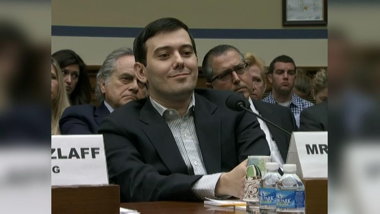 The so called Pharma Bro refuses attorneys advice to lay low.