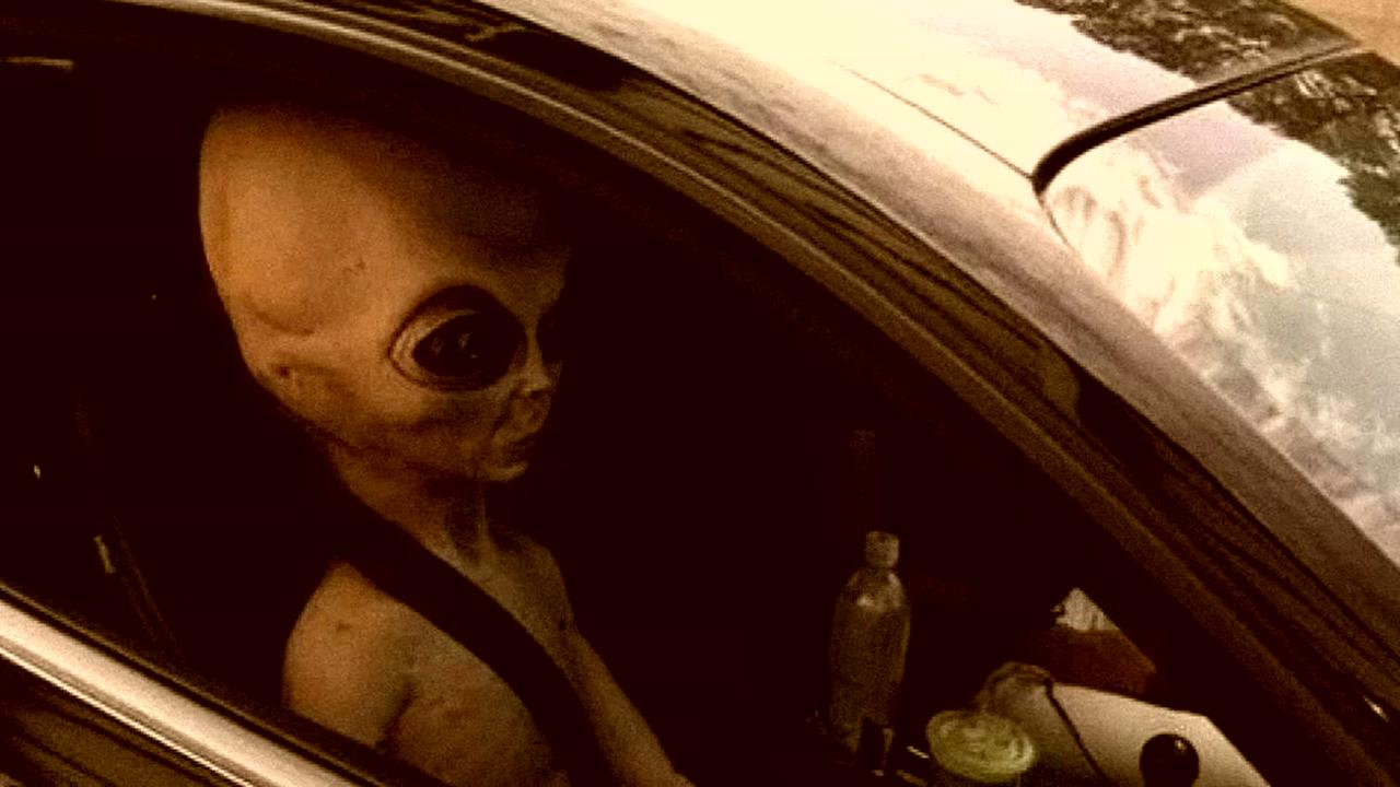 Police in Georgia have alien encounter with motorist