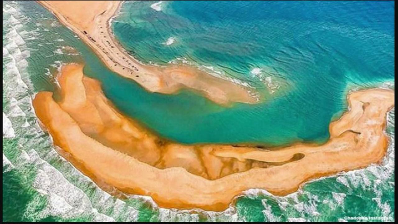 A new island has popped up along North Carolinas coast!