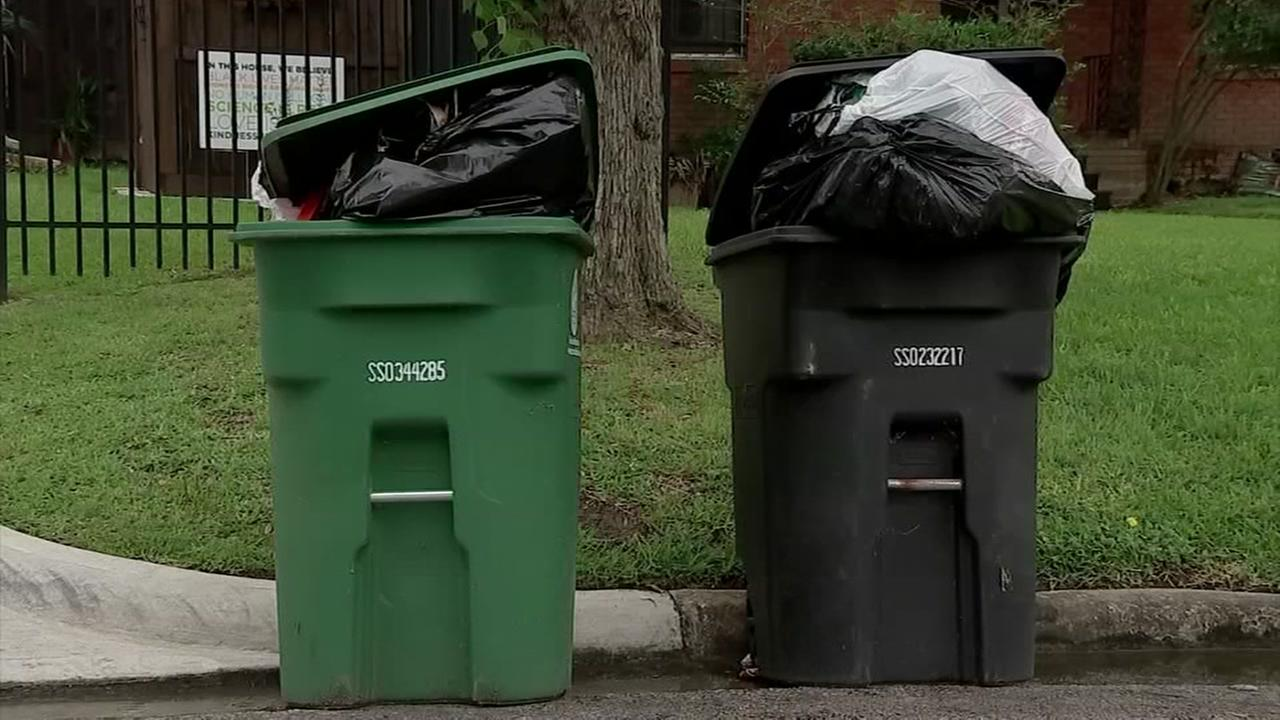 Ted Oberg looks at recycling across Houston