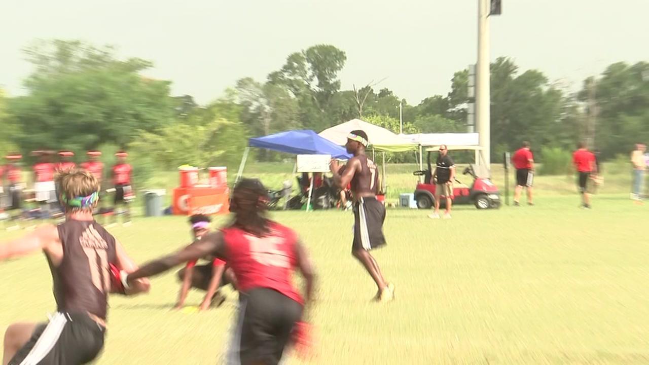 Lamar participtes in 7-on-7 tournament
