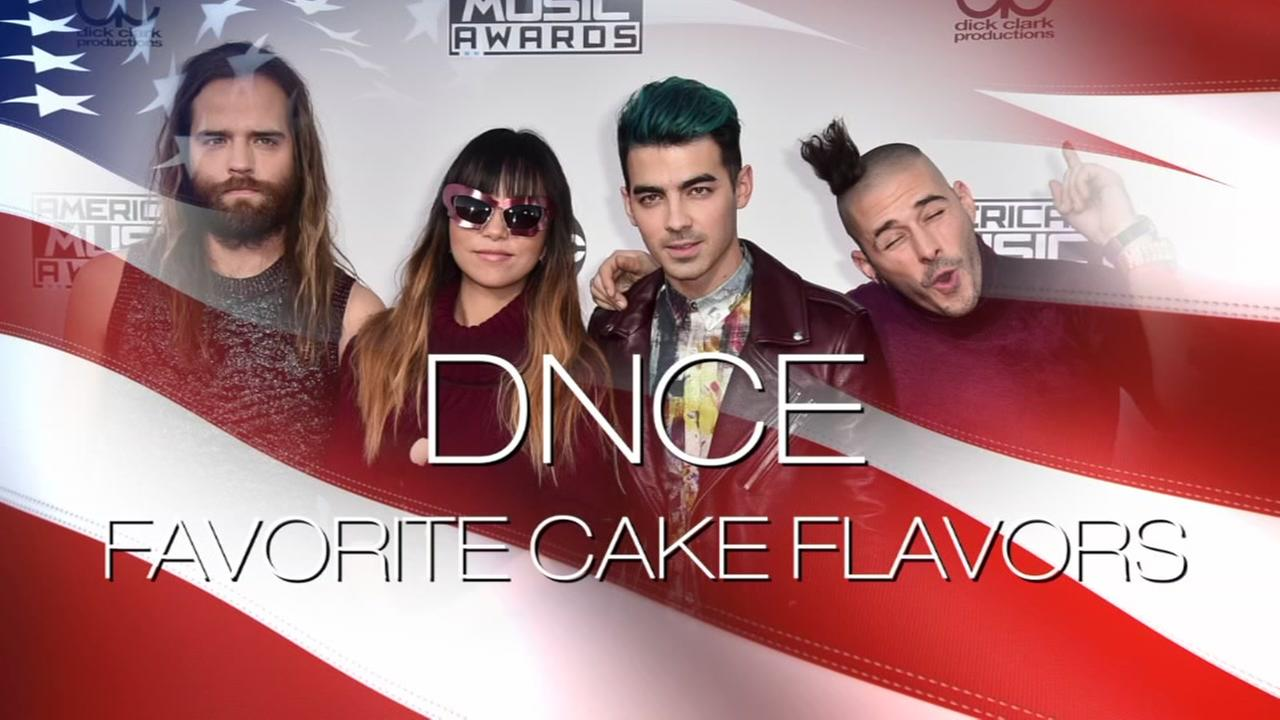 What is DNCEs favorite cake flavors?