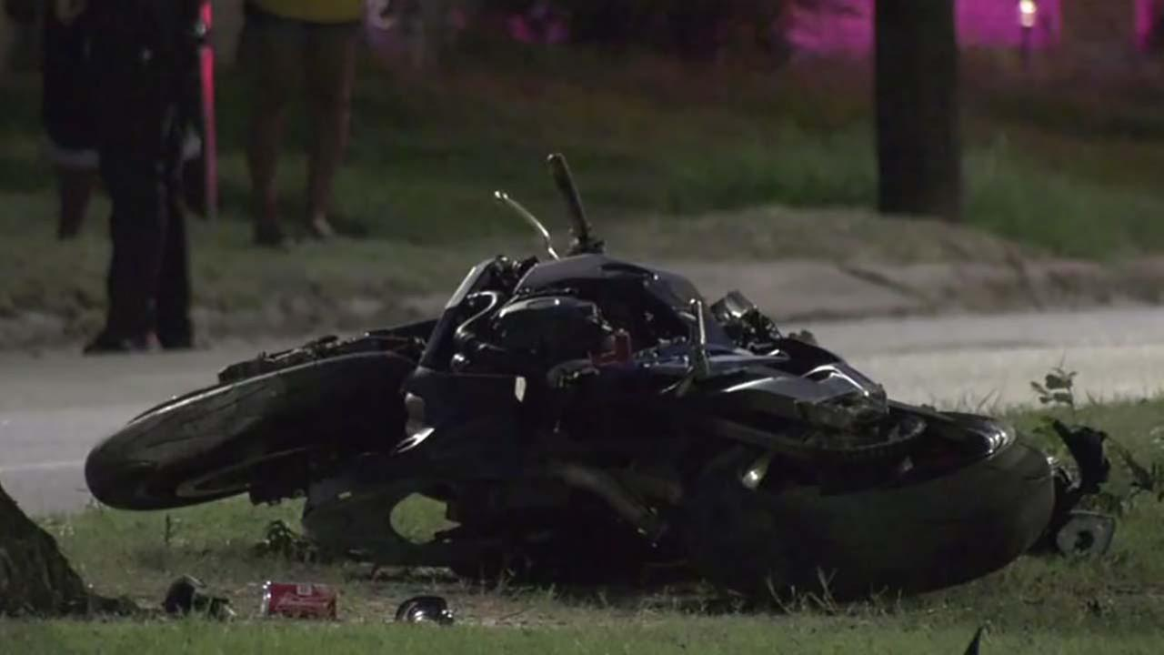Deadly motorcycle crash in Fifth Ward