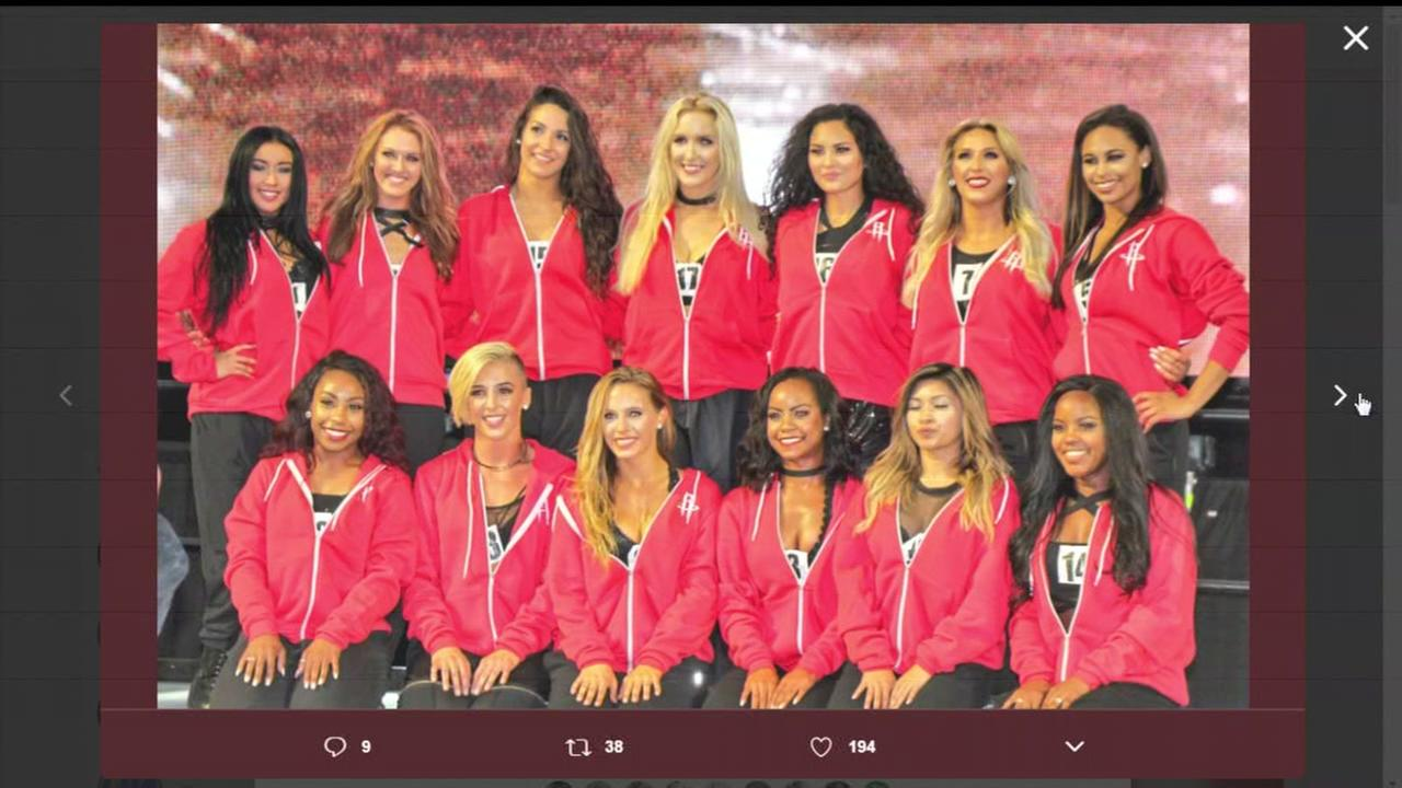 New Rockets dancers named at Toyota Center
