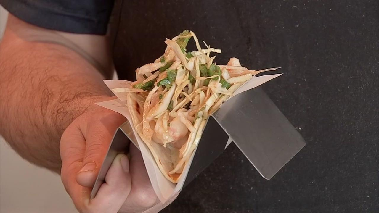Lets Eat: Tempura shrimp tacos from Fusion Taco