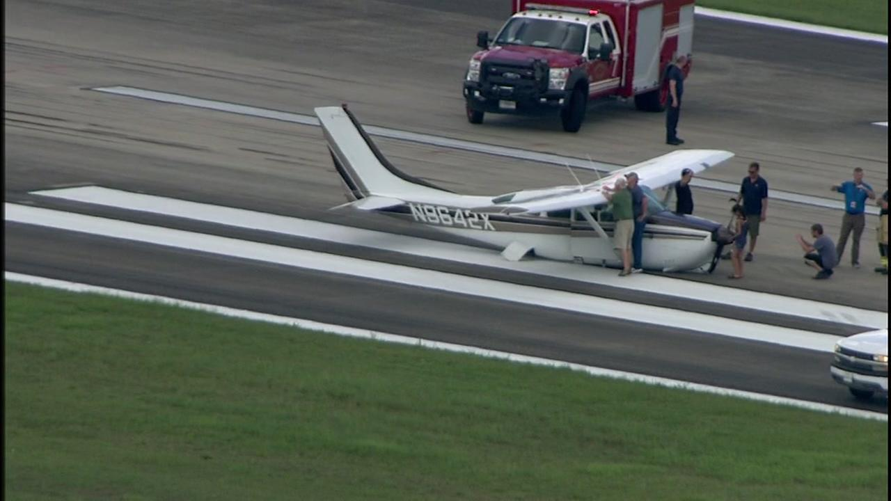 Cessna Belly Landing